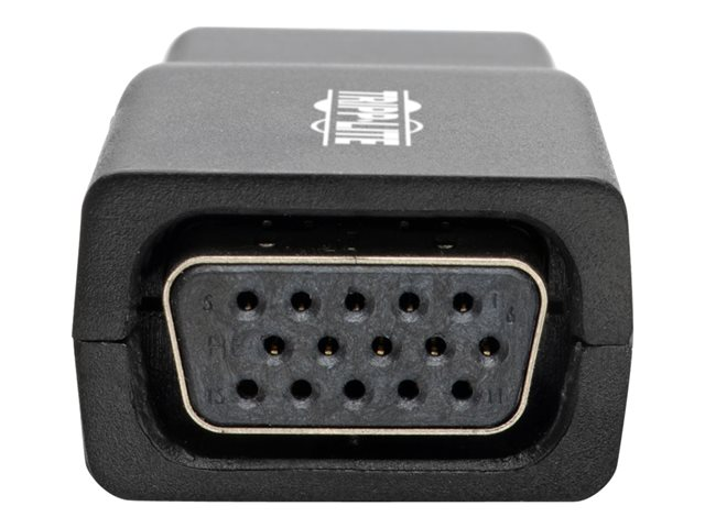 Tripp Lite Compact HDMI to VGA Adapter with Audio (M/F), 1920 x 1200 (1080p) @ 60 Hz