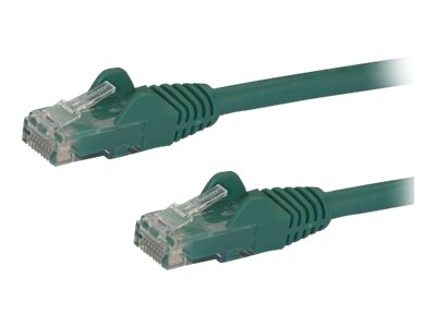 StarTech.com Cat6 Patch Cable - 9 ft - Green Ethernet Cable - Snagless RJ45 Cable - Ethernet Cord - Cat 6 Cable - 9ft (…