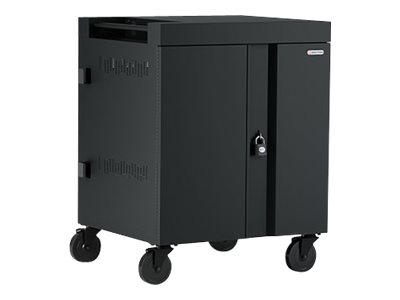 Bretford Cube Charging Cart - Cart (charge only) - for 32 tablets / notebooks - lockable