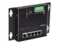 TRENDnet TI-PG50F Industrial switch unmanaged 5 x 10/100/1000 (PoE+)