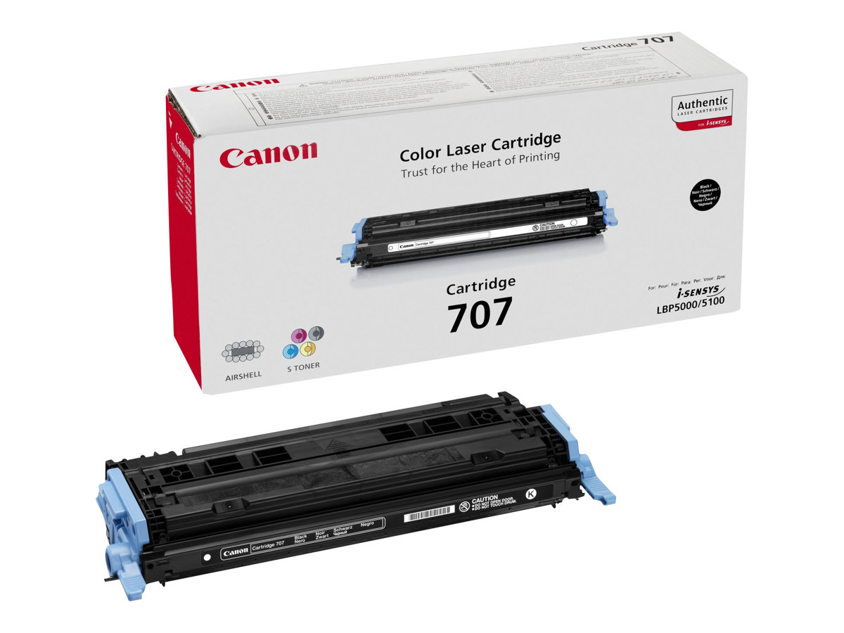 Canon PFI-707 BK - black - original - ink tank