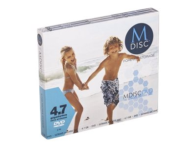 M-DISC - DVD-R x 3 - 4.7 Go - support de stockage