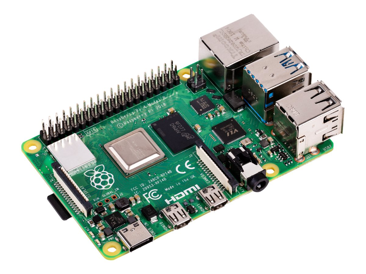Raspberry Pi Raspberry Board Pi 4B CPU2.4GHz/2GB/USB3.0/HDMI/BT/Wifi RASPBERRY PI 4 2GB