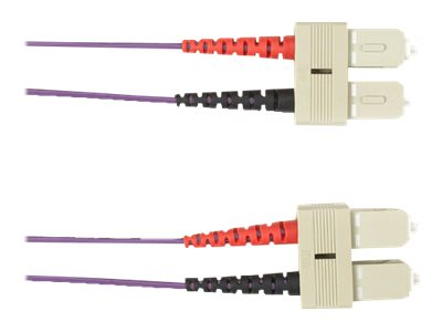 Black Box patch cable - 5 m - violet
