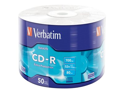 Verbatim DataLife Extra Protection 50x CD-R 700MB