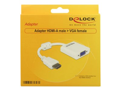 Adapter HDMI-A male > VGA female