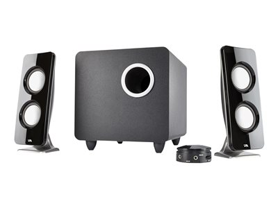 Cyber Acoustics CURVE Series CA-3610 Immersion Speaker system for PC 2.1-channel
