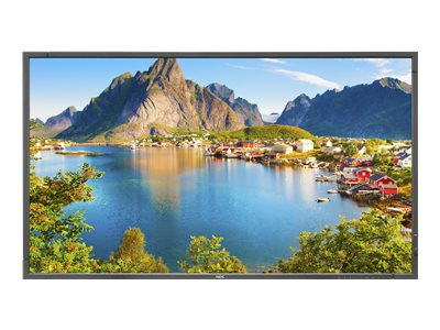 """NEC MultiSync E805 SST - 80"""" Class - E Series LED display - digital signage - with touch-screen - 1080p (Full HD) - edge-lit - black"""