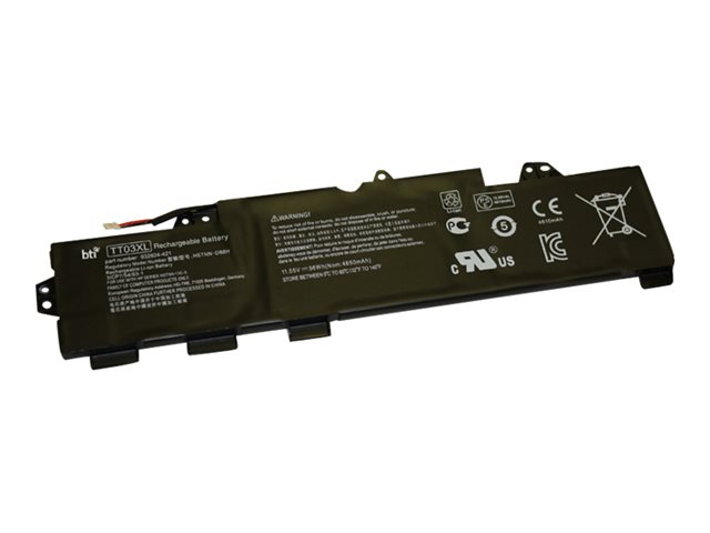 BTI - Notebook battery - 1 x lithium polymer 4-cell 4850 mAh
