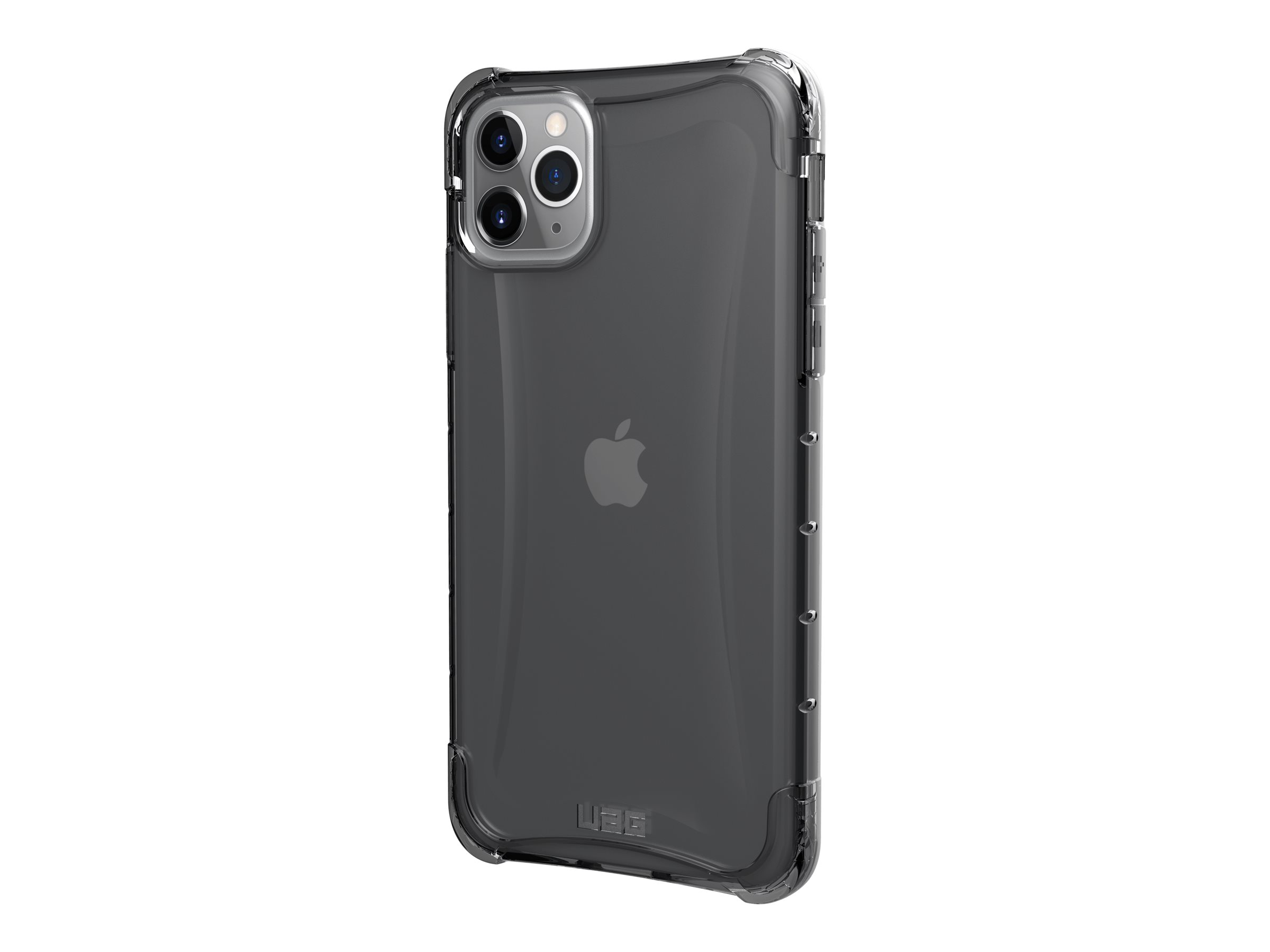 UAG Rugged Case for iPhone 11 Pro Max [6.5-inch screen] - Plyo Ash - back cover for cell phone