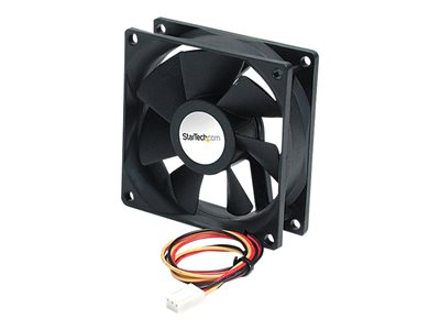 StarTech.com 92x25mm Ball Bearing Quiet Computer Case Fan w/ TX3 Connector - System fan kit - 92 mm