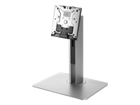 HP Height Adjustable Stand - Stand for All-In-One - black, silver - mounting interface: 100 x 100 mm - for EliteOne 800 G3, 800 G5