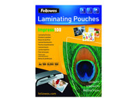Fellowes Laminating Pouches Impress 100 Micron Laminerings poser A4 (210 x 297 mm) Gennemsigtig