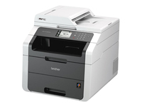 Brother MFC-9140CDN - Multifunction printer - colour - LED - Legal (216 x 356 mm) (original) - A4/Legal (media) - up to 22 ppm (copying) - up to 22 ppm (printing) - 250 sheets - 33.6 Kbps - USB 2.0, LAN