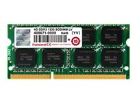 Transcend Industrial Grade DDR3 8 GB SO-DIMM 204-pin 1600 MHz / PC3-12800 CL11 1.5 V