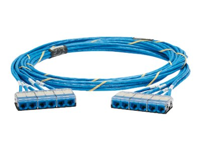 Panduit QuickNet Cable Assembly - network cable - 11.3 m - blue