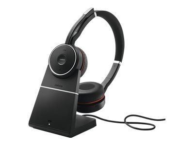 JABRA EVOLVE 75 STEREO UC CHARGING STAND AND LINK 370