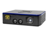 AAXA 4K1 DLP projector RGB LED array portable 1500 lumens 3840 x 2160 16:9 4K
