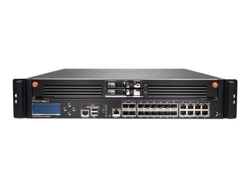 SonicWall SuperMassive 9800 - security appliance - Secure Upgrade Plus