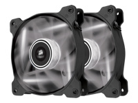 Corsair Air Series LED SP120 High Static Pressure - Case fan - 120 mm - white (pack of 2 )
