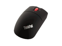 Lenovo ThinkPad - Mouse - right and left-handed - laser - 3 buttons - wireless - Bluetooth - stealth black - for IdeaPad 3 14ARE05; ThinkPad E15 Gen 2; L14 Gen 1; L15 Gen 1; X1 Carbon Gen 8; X13 Gen 1