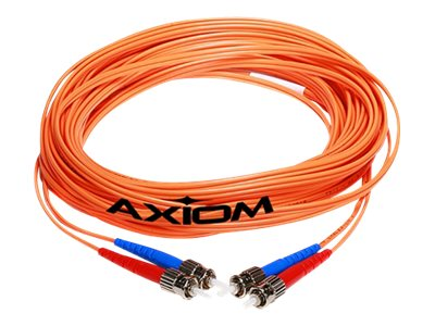 Axiom SC-MTRJ Multimode Duplex OM1 62.5/125 Fiber Optic Cable - 10m - Orange - network cable - 10 m