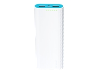 TP-Link Ally Series TL-PB15600 - Power bank - 15600 mAh - 3 A - 2 output connectors (2 x USB) - on cable: Micro-USB