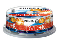 Philips DR4S6B25F 25x DVD+R 4.7GB