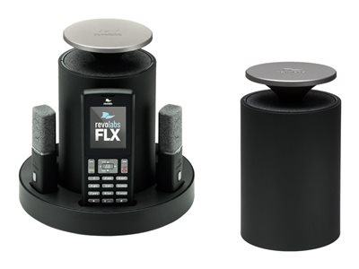 Revolabs FLX 2 VoIP conferencing system DECT 3-way call capability SIP