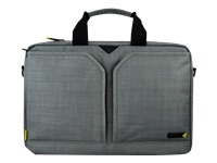"techair EVO Laptop Shoulder Bag - 13.3"" - Notebook carrying case - grey texturised"