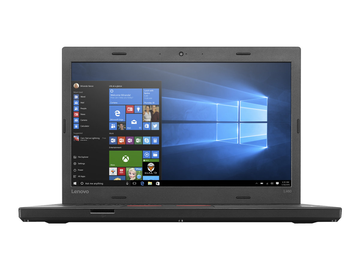 "Lenovo ThinkPad L460 - 14"" - Core i5 6300U - 4 GB RAM - 500 GB HDD - US"