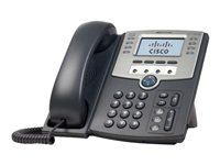 Cisco Small Business SPA 509G - Téléphone VoIP - SIP, SIP v2, SPCP - multiligne - argent, gris foncé - pour Small Business Pro Unified Communications 320 with 4 FXO