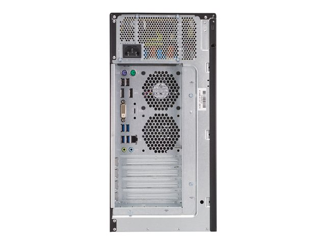 Fujitsu Celsius W580power+ - micro-tour - Xeon E-2134 3.5 GHz - 16 Go - 256 Go