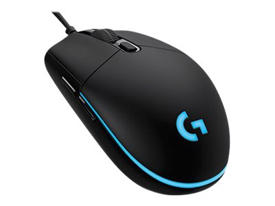 Logitech Gaming Mouse G Pro Optisk Kabling Sort