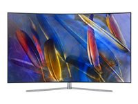 "Samsung QE65Q7CAMT - 65"" Class Q7C Series curved QLED TV - Smart TV - 4K UHD (2160p) 3840 x 2160 - HDR - Quantum Dot technology, Supreme UHD dimming - sterling silver"