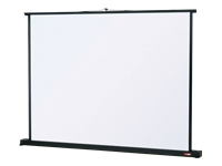 Metroplan Tabletop Portable Screen - Projection screen - 50 in (127 cm) - 4:3 - Matte White - black ***Delivery of this product is approx. 5 working days***