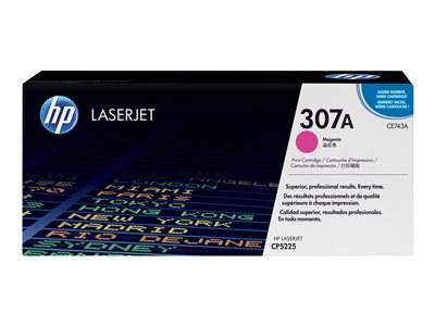 HP 307A - magenta - original - LaserJet - toner cartridge (CE743A)