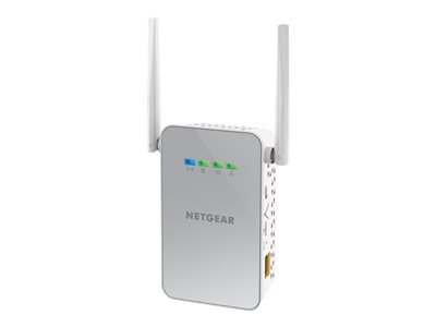 Powerline PLW1000 - Bridge - 802.11b/g/n/ac - collegabile a parete - con NETGEAR PowerLINE 1000 Adapter (PL1000)