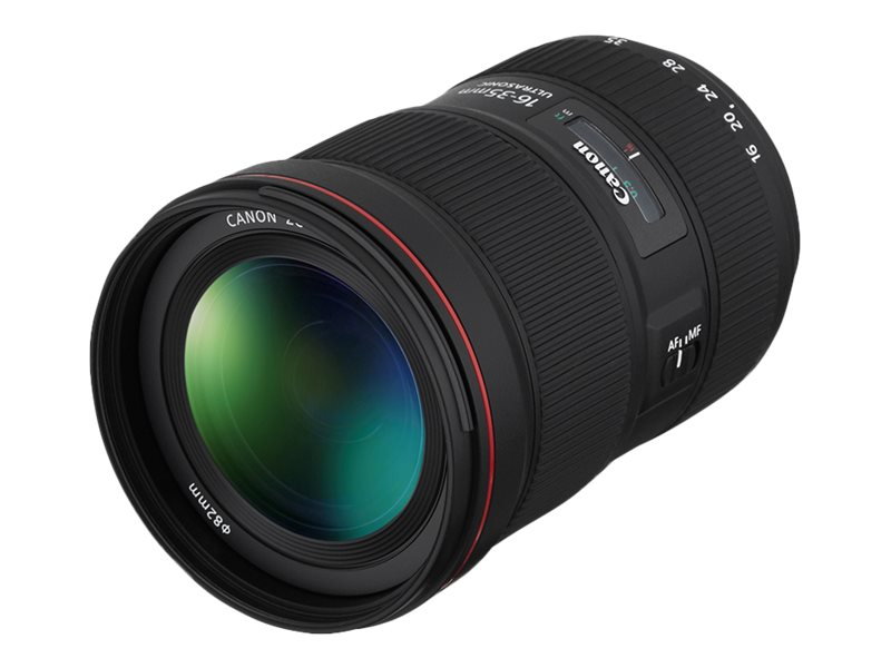 Canon EF wide-angle zoom lens - 16 mm - 35 mm