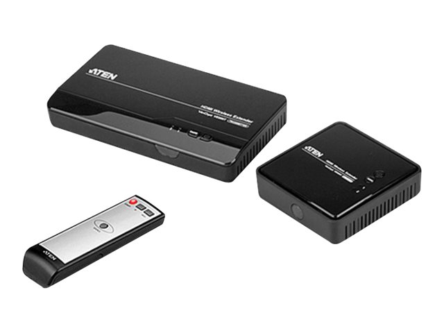 ATEN VE809 HDMI Wireless Extender (transmitter and receiver) - Erweiterung für Video/Audio - HDMI - bis zu 30 m - mit Fernbedienung