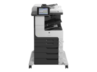 HP LaserJet Enterprise MFP M725z - Multifunction printer - B/W - laser - A3 (297 x 420 mm) (original) - A3/Ledger (media) - up to 41 ppm (copying) - up to 41 ppm (printing) - 2100 sheets - 33.6 Kbps - USB 2.0, Gigabit LAN, USB host, USB host (internal)