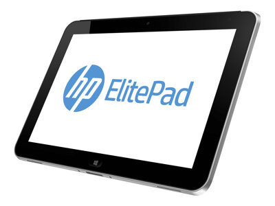 "HP ElitePad 900 G1 - Tablet - Atom Z2760 / 1.8 GHz - Win 8 Pro 32-bit - 2 GB RAM - 64 GB SSD - 10.1"" touchscreen 1280 x 800 - NFC - 3G"