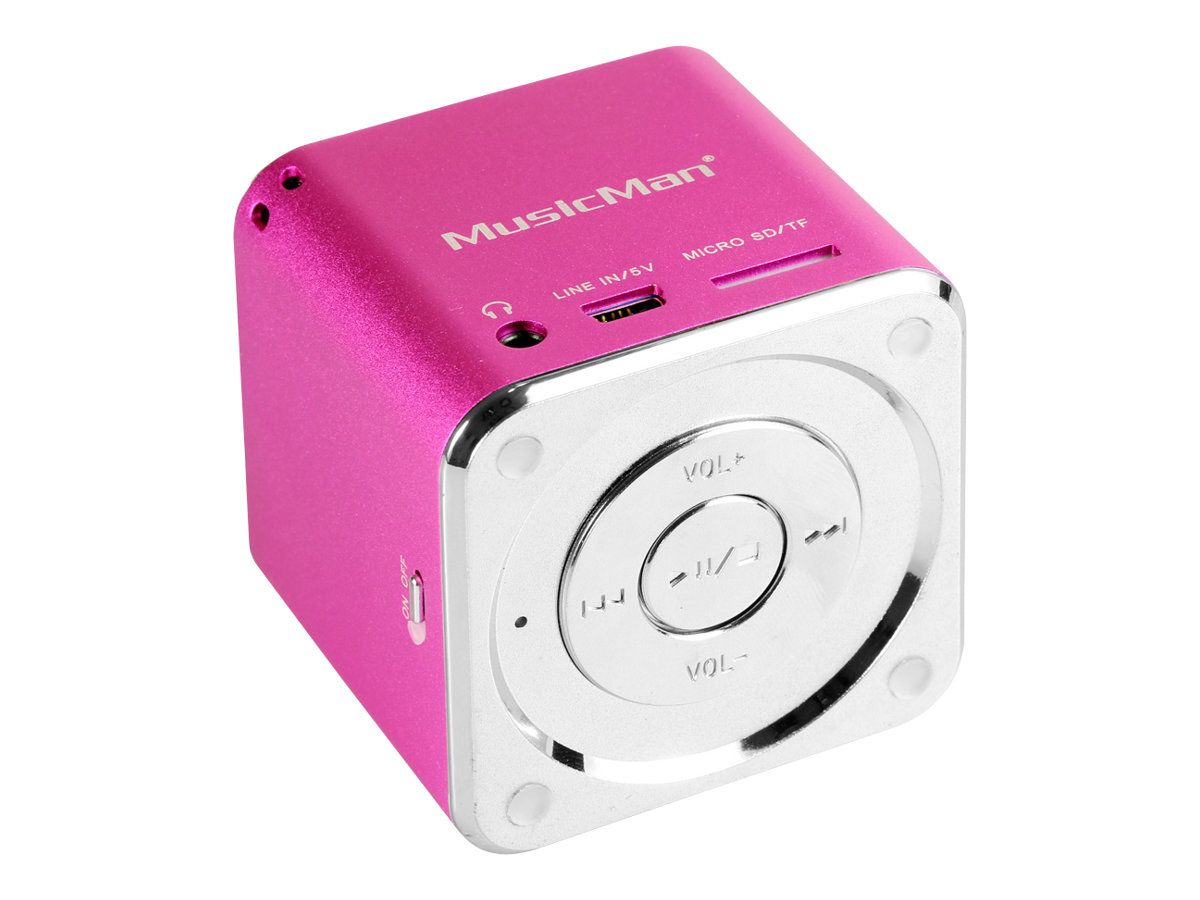 Technaxx MusicMan Mini - Digital Player - pink