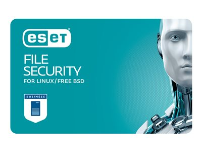 ESET File Security for Linux / BSD / Solaris Subscription license (2 years) 1 seat volume