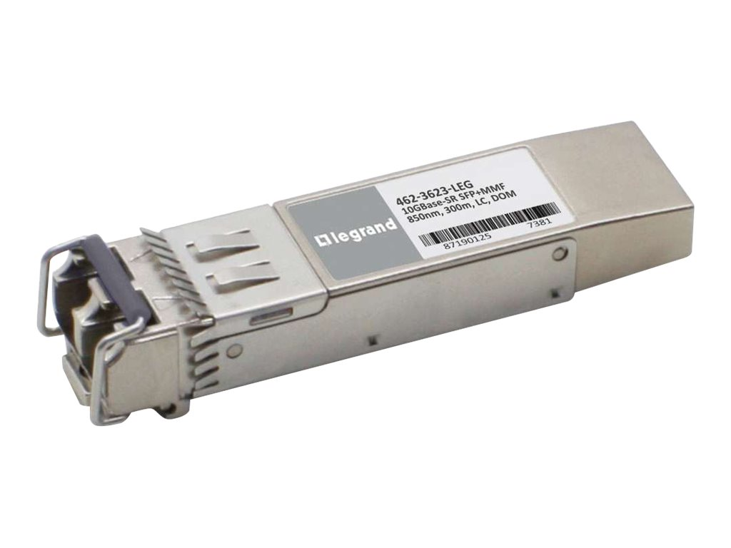 Legrand Dell 462-3623 10GBase-SR SFP+ Transceiver TAA - SFP+ transceiver module - 10 GigE - TAA Compliant