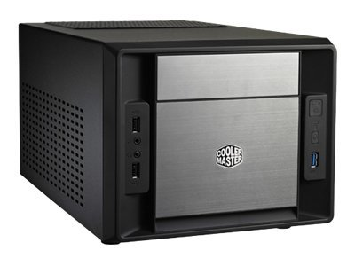Cooler Master Elite 120 Advanced Ultralille formfaktor Mini ITX Ingen Sort