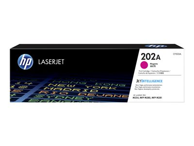 HP 202A Magenta original LaserJet toner cartridge (CF503A)