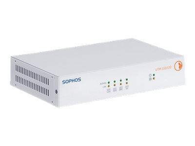 Sophos UTM 110 Security appliance with 1 year BasicGuard Subscription 4 ports GigE
