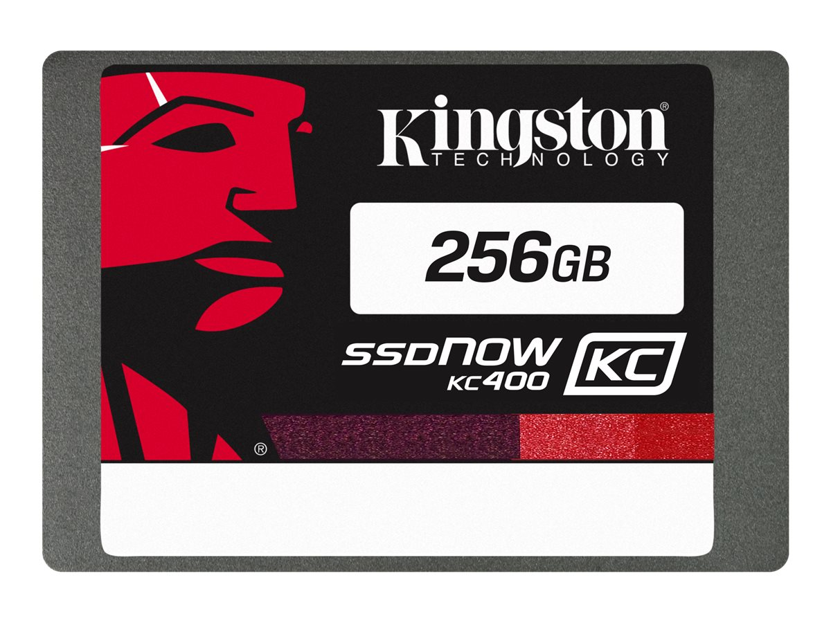 Kingston SSDNow KC400 - Solid-State-Disk - 256 GB - intern - 2.5