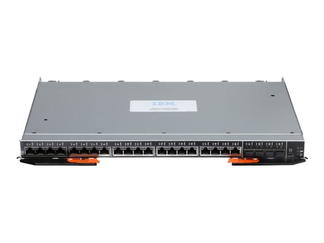 Lenovo Flex System EN2092 1Gb Ethernet Scalable Switch - switch - 40 ports - managed - rack-mountable